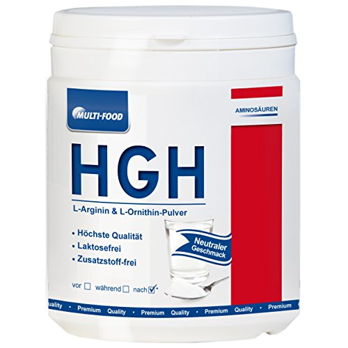 HGH Pulver L-Arginin + L-Ornithin