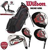 Wilson Prostaff Alle Graphit Schaft HDX Komplett Golf Club Set