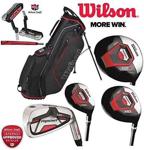 Wilson Prostaff Alle Graphit Schaft HDX Komplett Golf Club Set & Ständer Tasche Neu Für 2016 Herren Rechts Hand