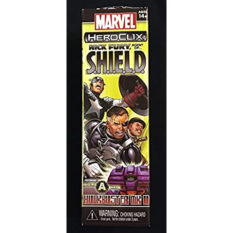 Heroclix Nick Fury Agent Of Shield Booster Pack Marvel
