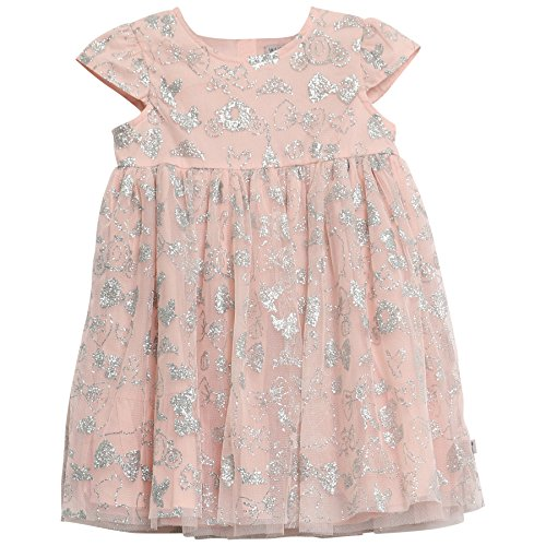Cinderella Tüllkleid Disney, Rosa (Powder 2400), 104 (Herstellergröße:4y/104) (Cinderella Dress 2017)