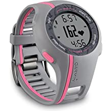 Garmin GPS Laufuhr Forerunner 110 W - GPS Trainingscomputer inkl. Brustgurt