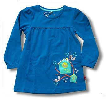 Name it Mini Baby Mädchen Kleid Tunika FRIK 13100671 Tile Blue Gr. 104