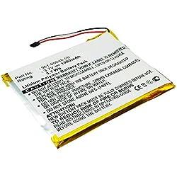 subtel® Batterie premium pour Garmin Nüvi 3400 Nüvi 3450, 3450LM, Nüvi 3490LMT, Nüvi 3550LM, Nüvi 3750 (1000mAh) 361-00046-00 Batterie de recharge, Accu remplacement