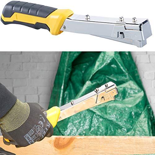 kwb Profi Hammertacker HT 057 Alternative zur elektrischen Tacker-Pistole befestigt Tacker-Klammern schnell /& stark Tacker-Ger/ät mit Handtacker-Funktion