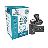 Dog Poo Bags Biodegradable With Lead Dispenser By PetCellence | Extra Large Unscented | Premium Quality | Thick & Strong Poop Bag For Dogs | 330 Bags – 22 Rolls (15 pcs Per Roll) | No Tie-Handles (On Rolls - 330 Bags)