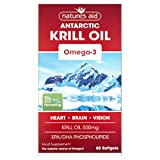 Natures Aid Krill Oil 500mg - 60 Tablets