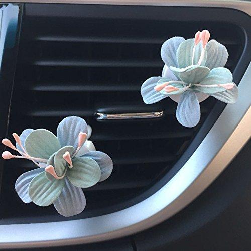 Preisvergleich Produktbild inebiz Auto Charme Schönes Colorful Stiefmütterchen Flower Auto Innen Air Vent Dekorationen Parfüm, Creative Duft Lufterfrischer Halter & Container