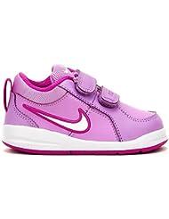 Nike - Nike Pico 4 (TDV) Zapatos Deportivos Niña Fucsia Cuero 454478