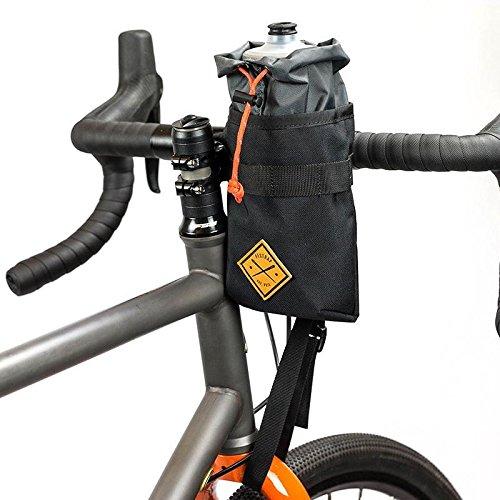 RESTRAP STEM Bag Sacoche de Potence étanche Porte bidon Bouteille Rangement Accessoires bagagerie vélo Mixte Adulte, Noir