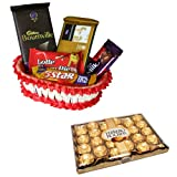 Chocolate hamper With 24 Pcs Ferrero Rocher
