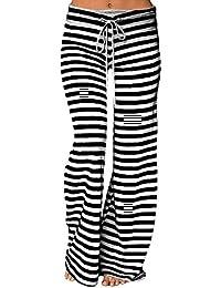 Amazon.es  Negro - Pantalones   Mujer  Ropa 68203fc11fa6