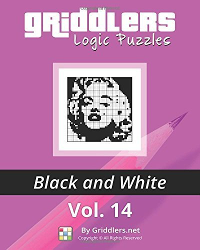 Griddlers Logic Puzzles: Black and White (Volume 14) by Team, Griddlers (2015) Paperback