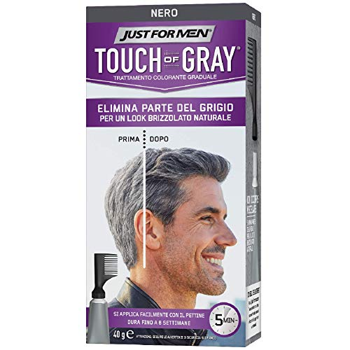 Just For Men Touch of Gray nero