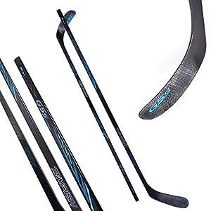 Hockey- und Eishockeyschläger Tempish G5S blau 130-152 cm ABS Schaufel
