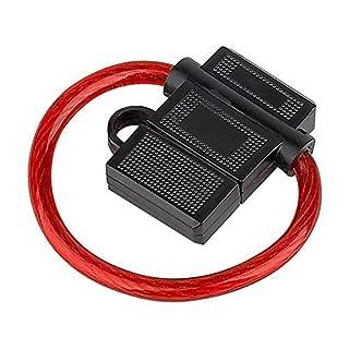 Audioproject A210 - Auto Sicherungshalter ATC 40A mit 6mm² 10GA Kabel max 12V - 24V Spritzwasser geschützt - Flachsicherung o. Sicherung - Extra Dickes Kabel für KFZ LKW Verstärker