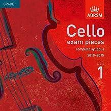 Cello Exam Pieces from 2010 Gr 1 (ABRSM Exam Pieces)