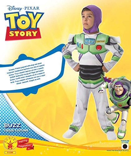 Imagen de buzz lightyear toy story 'classic' costume  child's fancy dress  medium disfraz  alternativa