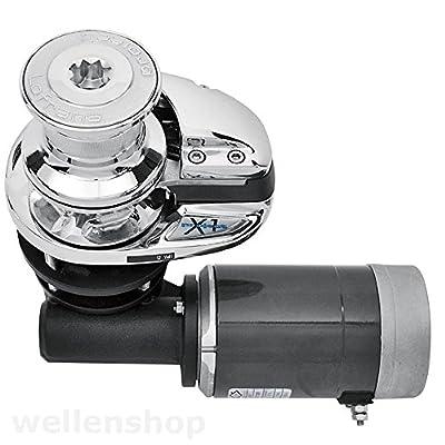 Lofrans X1 Ankerwinde + Spill Aluminium 500W Kette Ø6mm & Seil Ø10-12mm