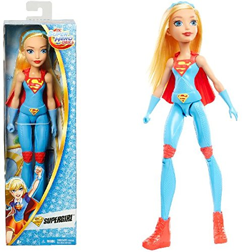 Mattel DMM25 DCSHG Training Action Supergirl Puppe