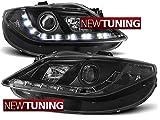 Scheinwerfer SEAT Ibiza 6J 06.08–12Daylight schwarz