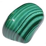 Malachit Handschmeichler ca. 71-80 Gramm SUPER A*Qualität schöne Farbe und Maserung (4630)