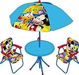 Arditex - Wd7869 - Maison De Jardin - Ensemble Mobilier De Jardin - Mickey Mouse