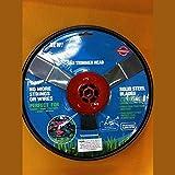 ELECTROPRIME Garden Yard Trim Grass No String Universal Gas Trimmer Metal Head Cutter