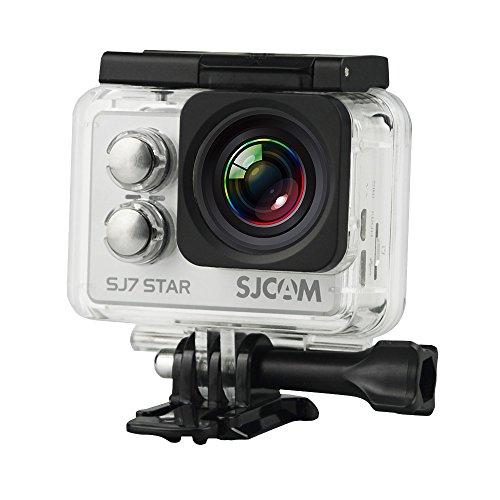 Galleria fotografica SJCAM SJ7 STAR SLV 4K NATIV Action Camera  (16MP, Touchscreen, Sony Sensor, WLAN, HDMI, Impermeabile), Argento