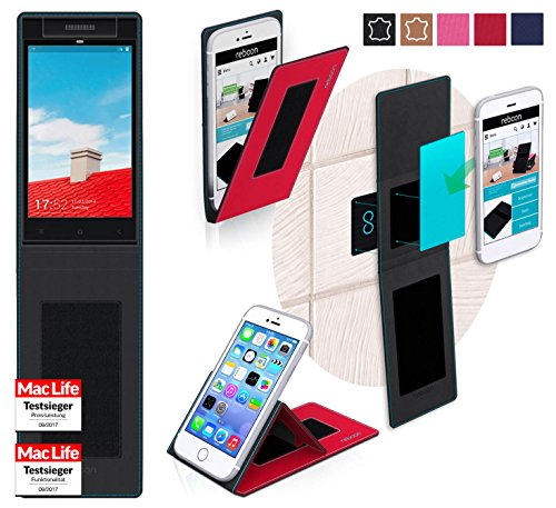 reboon Hülle für Gionee Elife E7 Mini Tasche Cover Case Bumper | Rot | Testsieger