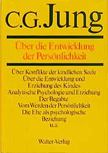 C.G.Jung, Gesammelte Werke. Bände 1-20 Hardcover: Gesammelte Werke, 20 Bde., Briefe, 3 Bde. und 3 Suppl.-Bde., in 30 Tl.-Bdn., Bd.17, Über die Entwicklung der Persönlichkeit - Kinder Evolution über Buch