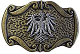 Brazil Lederwaren Gürtelschließe Adler 4,0 cm
