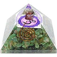 Humunize Aventurin mit Bleistift und OM-Logo Orgon Pyramide Chakra-Energie-Generator Reiki Stein Fen Shui Geschenk preisvergleich bei billige-tabletten.eu