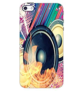 APPLE IPHONE 4S SPEAKER Back Cover by PRINTSWAG