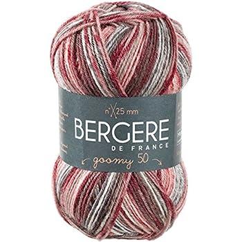 Bergère de France Goomy 50 Imprim Prune Sockenwolle, Wolle