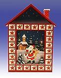 Adventskalender Holzhaus (132099) mit Lichterkette (GB10)
