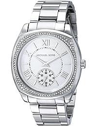 Michael Kors MK6133 - Reloj con correa de acero para mujer, color plateado / gris