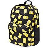 Simpsons Bart Face Children's Backpack, 41 cm, Black