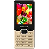 Blackbear D-102 Dual SIM Mobile Phone With 1500mAh Battery And 2.4-inch Screen (Gold)