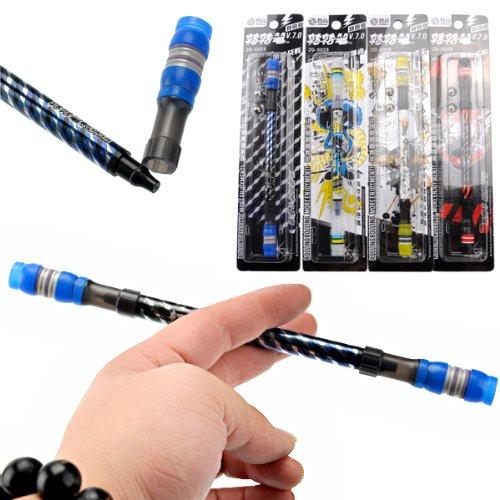 rosenice-jouet-de-equilibre-filature-stift-non-slip-coated-spinning-pen-20cm-couleur-aleatoire