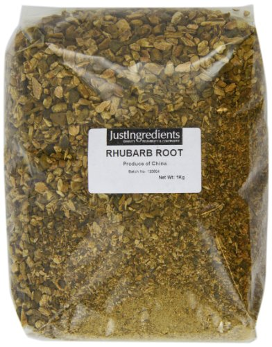 JustIngredients Rhabarberwurzel, Rhubarb Root, 1er Pack (1 x 1 kg) -