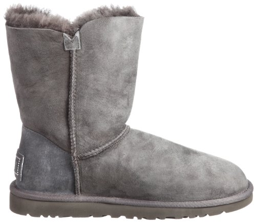 Ugg Australia  Bailey Button Bling, Bottes femme gris (Grey)