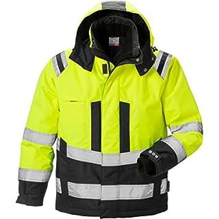 Fristads Kansas 119626 High Viz Airtech Winter Jacket Hi-Vis Yellow/Black 3XL