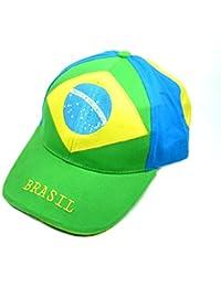 Fan Cap Brasilien Brasil NEU grün Kappe Flagge Basecap