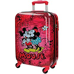Disney Retro Comic Red Equipaje Infantil, 33 Litros, Color Rojo