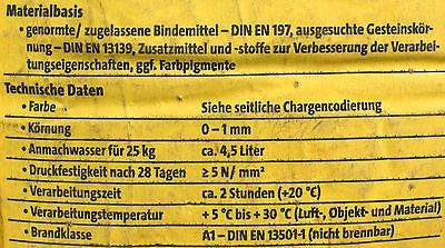 25kg Dachdeckermörtel DM schwarz