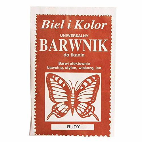 maDDma 10g Batikfarbe Textilfarbe Stofffarbe färben, Farbe wählbar aus 30 Nuancen, Farbe:rot -