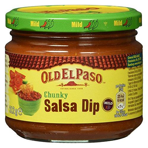 Old El Paso Chunky Salsa Dip Mild, 312 g