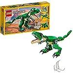 Lego 31058Spaventa i tuoi amici con il Tirannosauro 3-in-1, dotato di articolazioni snodabili, enormi artigli e bocca apribile con denti appuntiti. Può essere ricostruito in un triceratopo o pterodattiloSpecifiche:AttivitàMattoncini e CostruzioniLine...
