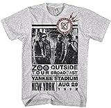 Official - U2 - Zoo Outside - Mens Grey T Shirt